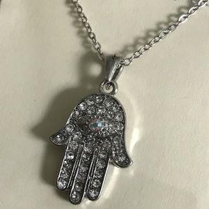 Jewelry - Evil Eye Hamsa Necklace
